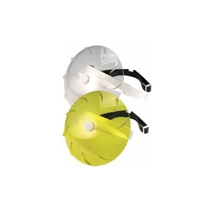 Turbo visière jaune