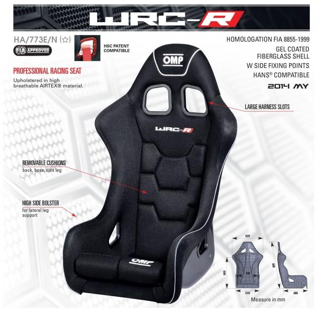 Siège OMP WRC-R