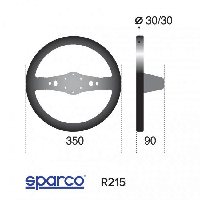 Volant Sparco R215