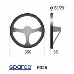 Volant Sparco R325