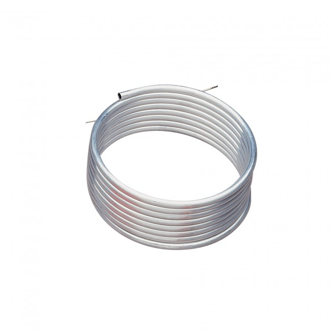 Tuyau d'aluminium diam6x8 mm - 4 m OMP