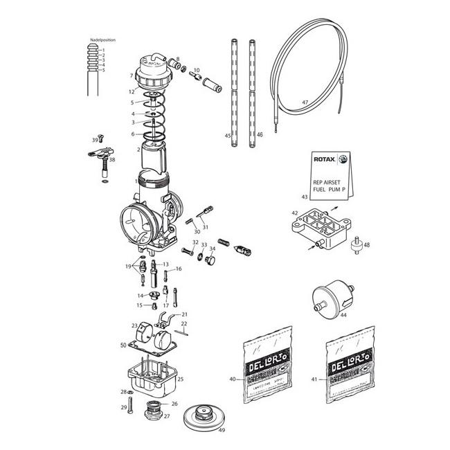 Carburateur - Pompe à essence DD2