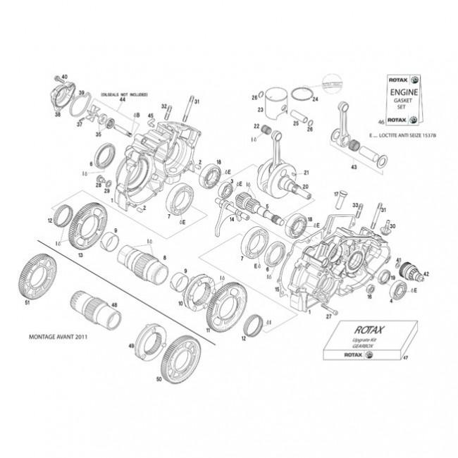 Carter - Vilo - Pompe à eau - Piston DD2
