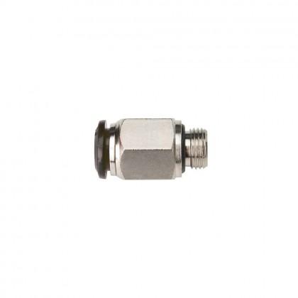 Connexion droite OMP diam 8 mm