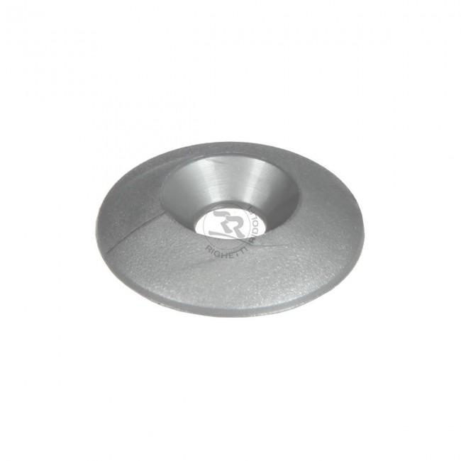 Rondelle évasée PVC 30mm-M8 (lot de 10)