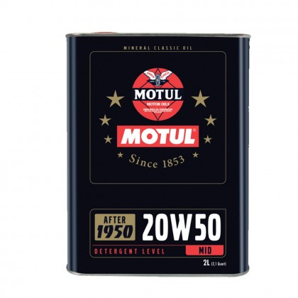 Huile Moteur Motul Classic 20W50 2L